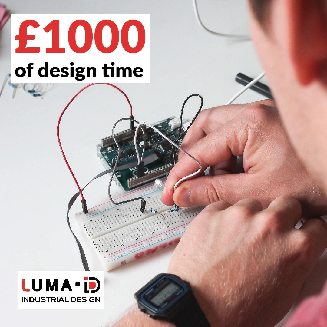 3dprintuk blueprint competition luma id product design luma industrial design malvernweather Choice Image
