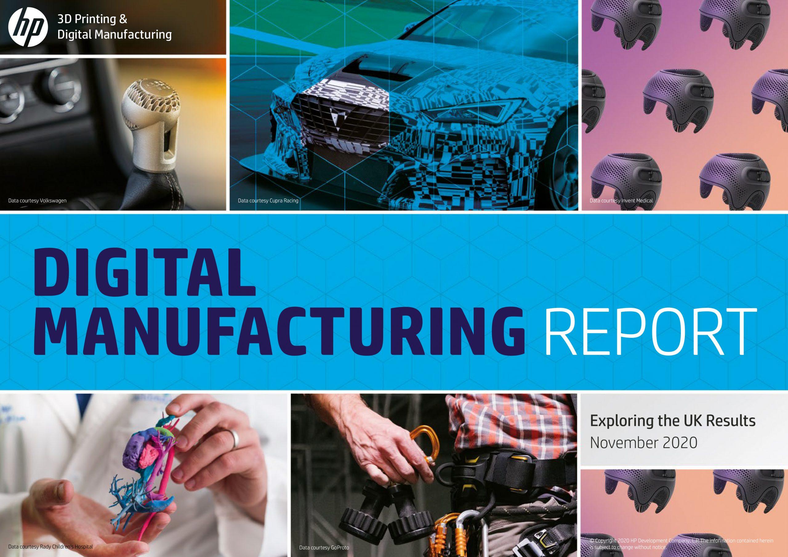 HP Digital Manufacturing Trends Report